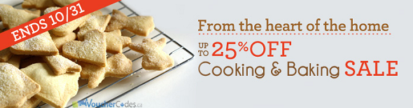 Up to 25% off bake ware and cookware at Wayfair