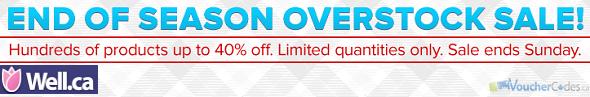 Well.ca overstock sale