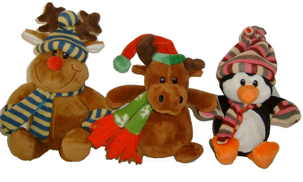 Christmas Stuffed Animals
