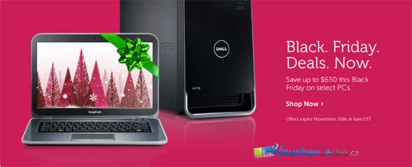 Dell Canada Black Friday Sale