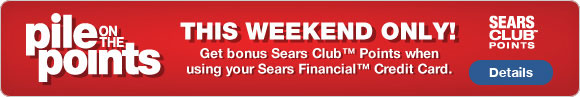 Sears Pile on the Points