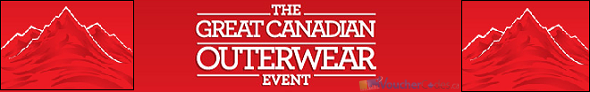 Up to 40% off select winter warmers at Sears Canada