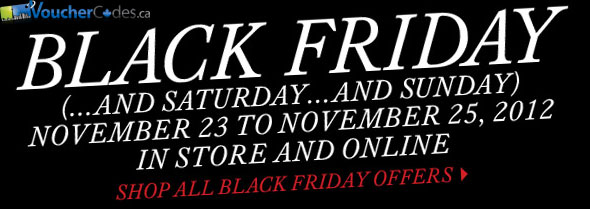 The Bay's Black Friday Sale