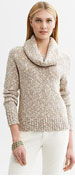 Marled Cowl-Nect Pullover