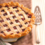 Cranberry Cherry Lattice Pie