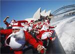 Santa Boat Ride