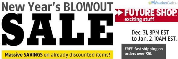 Future Shop Boxing Week sale