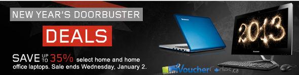 Lenovo New Year's Doorbuster