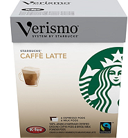 Starbucks Cafe Latte pods