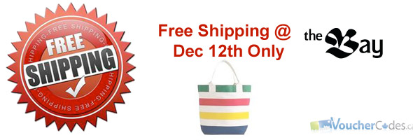 The Bay Free Shipping Day - December 12th 2012