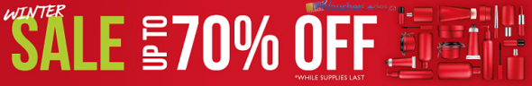 Up to 70% off at The Body Shop Canada