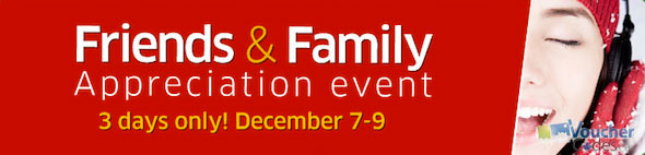 Friends & Family Event at TheSource.ca