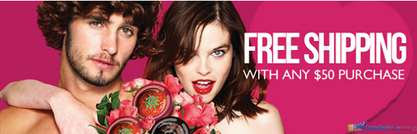 Free shipping and more at body shop Canada