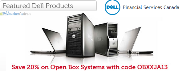 Extra 20% off open box systems from DFSDirect Canada