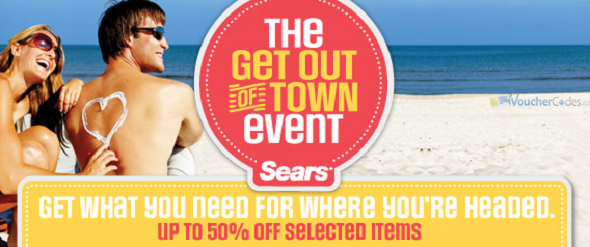 Up to 50% off at Sears Canada