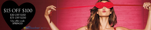Up to $75 off at Victoria Secret