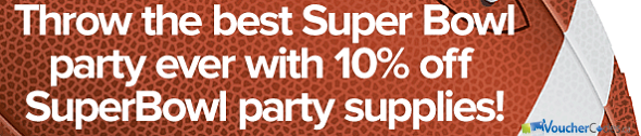 10% off Superbowl items at Well.ca