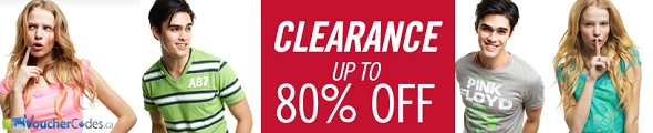 Up to 80% off at Aeropostale