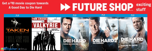 Die Hard deal at Future Shop