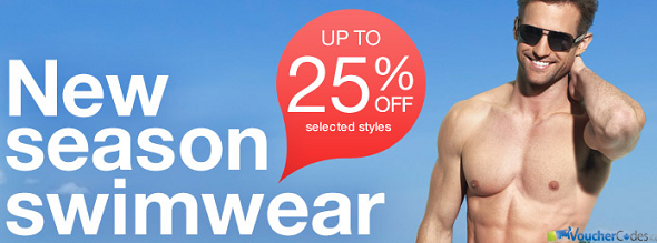 Up to 25% off select Swimwear at Sears Canada
