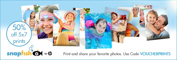 50% off 5x7 Prints at SnapFish Canada with this Exclusive