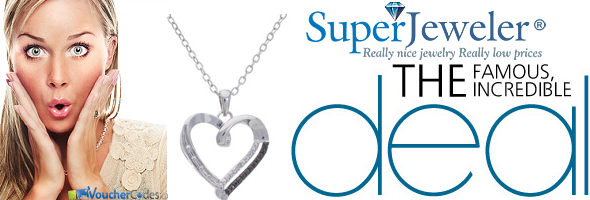 $20 off a necklace exclusive at Superjeweler