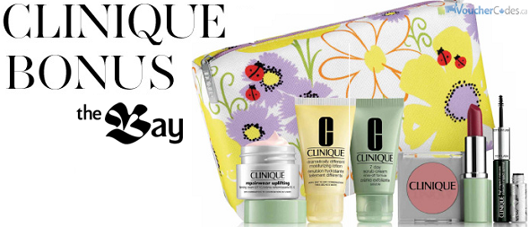 Clinique Gift at The Bay