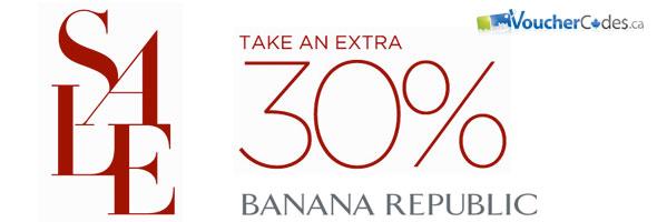 Banana Republic 30% Off Sale Items