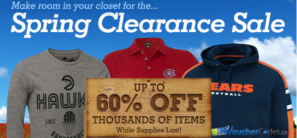 FansEdge Spring Clearance Sale
