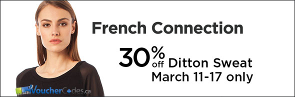 French Connection 30% Off Ditton Sweatshirt