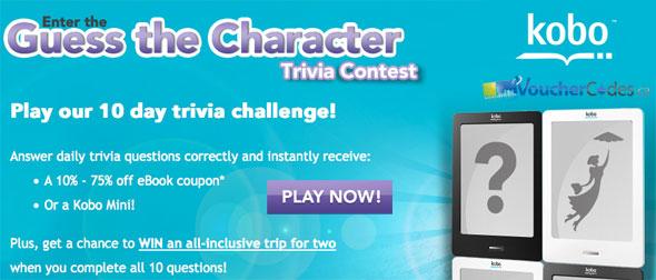 KoboBooks Trivia Contest
