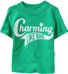 Old Navy Kid's Charming Like Dad Tee