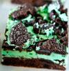 Oreo Mint Brownies
