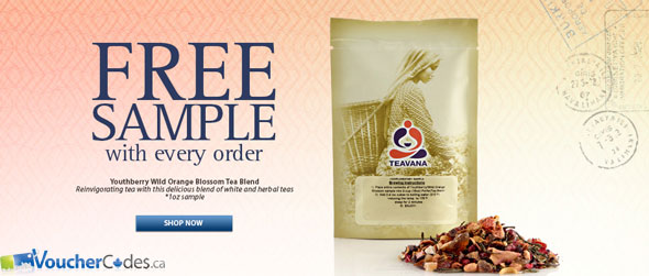Teavana Free Shipping & Sample