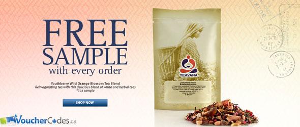 Teavana Free Shipping & Sample