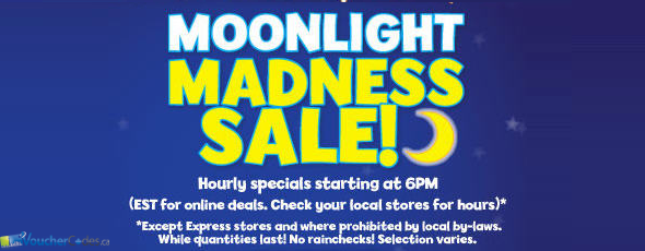 Moonlight Madness at Toys R Us Canada