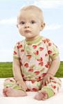 Strawberry Fields Baby Tee