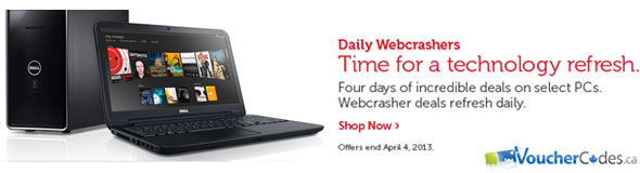 Dell Daily Webcrashers