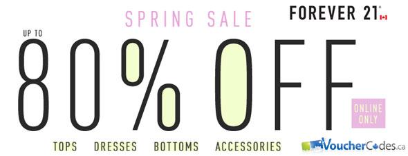 Forever 21 Spring Sale