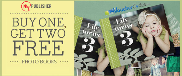 MyPublisher 3 for 1 Photo Book Deal