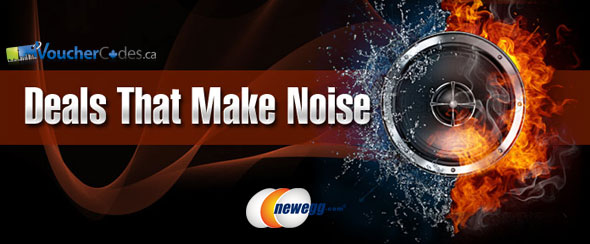 Newegg Deals That Make Noise