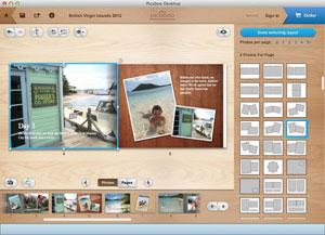 Picaboo Desktop Layout