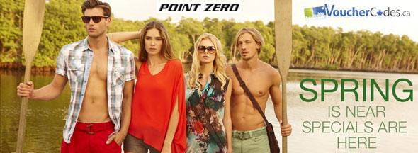 Point Zero Spring Specials