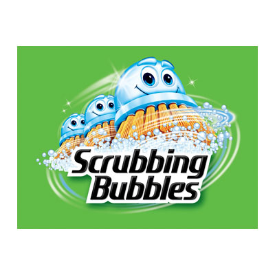 Scrubbing Bubbles Logo