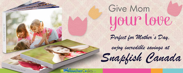 Snapfish Spring and Mother's Day Offers