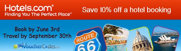 Hotels.com Save 10%