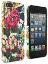 Creme Flora iPhone 5 Case