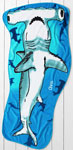 Kids' Shark Towel