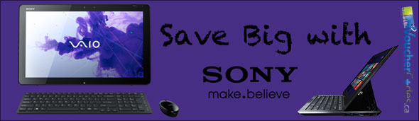 Sony Save Big