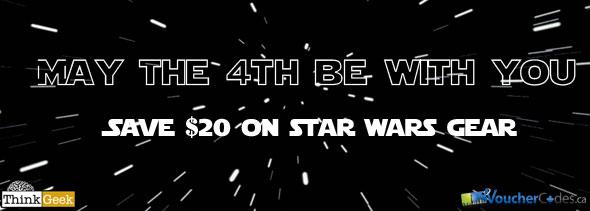 ThinkGeek Star Wars Deal
